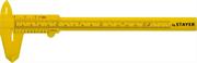 STAYER 150 мм, штангенциркуль пластмассовый 3440_z01 Профессионал