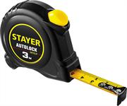 STAYER 3 м х 16 мм, с автостопом рулетка 2-34126-03-16_z02
