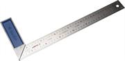 ЗУБР 400 х 37 х 1 мм, нержавеющее полотно, угольник столярный 34393-40