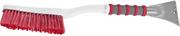 ЗУБР 610 мм, щетка-сметка со скребком автомобильная для снега и льда 61064-061