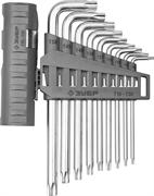 ЗУБР 9 шт., Cr-V, ключи имбусовые длинные в наборе 2745-4-1_z01