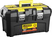 """STAYER 490 x 262 x 250 мм (19""""), пластиковый, ящик для инструментов TITAN-19 38016-19"""