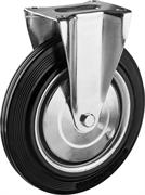 ЗУБР 250 мм, 210 кг, колесо неповоротное 30936-250-F Профессионал