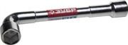 ЗУБР 24 мм, хромированный, ключ торцовый Г-образный проходной 27185-24