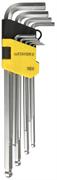 STAYER 9 шт., Cr-V, ключи имбусовые удлиненные с шариком 2741-H9-2