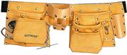 STAYER 10 карманов, кожаный, петля (скоба) для крупного инструмента, пояс для инструментов 38512
