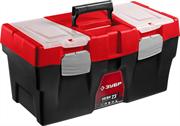"ЗУБР 585 х 295 х 295 мм (23""), пластиковый, ящик для инструмента НЕВА-23 38323-23"