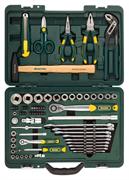 KRAFTOOL 70 шт., набор слесарно-монтажного инструмента 27977-H70