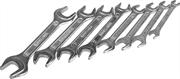 8 шт, 6 - 19 мм, набор ключей гаечных рожковых 27015-H8