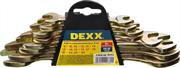 DEXX 8 шт, 8 - 24 мм, набор ключей гаечных рожковых 27018-H8