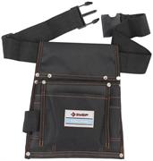 ЗУБР 10 карманов, сумка на поясе для инструментов 38650