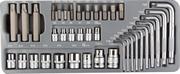 ЗУБР 38 шт., набор бит специальные, головок, ключей TORX в металлическом боксе 2654-H40_z01