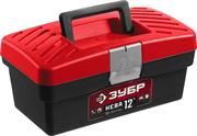 "ЗУБР 285 х 155 х 125 мм (12""), пластиковый, ящик для инструмента НЕВА-12 38323-12"