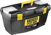 "STAYER 610 х 320 х 300 мм (24""), пластиковый, ящик для инструментов VEGA-21 38105-21_z03"