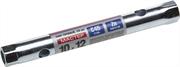 ЗУБР 10 х 12 мм, хромированный, ключ торцовый трубчатый 27162-10-12