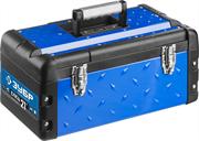"""ЗУБР 530 x 270 x 240 мм (21""""), металлический, ящик для инструментов СПЕЦ-21 38155-21_z01 Профессионал"""