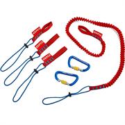 KNIPEX 6 шт, набор инструментов для фиксации KN-005004TBK
