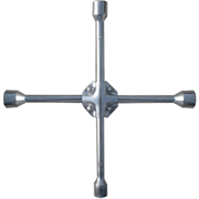 MATRIX 17-19-21-22 мм, хромированный, ключ-крест баллонный 14244