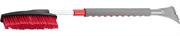 ЗУБР 810 - 1060 мм, телескопическая, со скребком, щетка-сметка автомобильная для снега и льда 61061-110