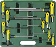 KRAFTOOL 9 шт., ключи имбусовые INDUSTRIE 27455-H9