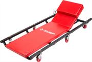 ЗУБР лежак с 6 колесами и регулируемым подголовником 43523