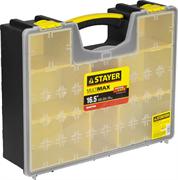 "STAYER 420 х 334 х 115 мм (16,5""), пластиковый, органайзер со съемными лотками MULTIMAX 38033-16"