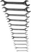 ЗУБР 12 шт, 6 - 32 мм, набор ключей гаечных рожковых 27021-H12