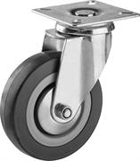 ЗУБР 100 мм, 65 кг, колесо поворотное 30956-100-S