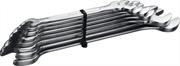 ЗУБР 8 шт, 6 - 22 мм, набор ключей гаечных рожковых 27009-H8