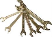 STAYER 6 шт, 8 - 24 мм, набор ключей гаечных рожковых 27041-H6