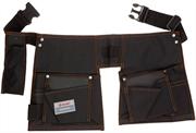 ЗУБР 13 карманов, нейлон, петля (скоба) для крупного инструмента, сумка поясная для инструмента 38654