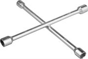 ЗУБР 17-19-21-22 мм, пруток d15 мм, оцинкованный, ключ-крест баллонный 27543