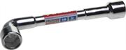ЗУБР 22 мм, хромированный, ключ торцовый Г-образный проходной 27185-22