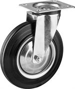 ЗУБР 200 мм, 185 кг, колесо поворотное 30936-200-S Профессионал