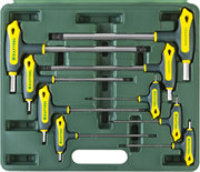KRAFTOOL 9 шт., ключи имбусовые INDUSTRIE 27454-H9