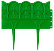 GRINDA 14х310 см, зеленый, бордюр декоративный для цветников 422223-G