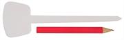 GRINDA 125 мм, 25 шт, набор меток-ориентиров с карандашом 8-422371-H26_z01