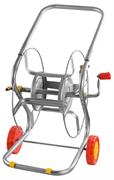 """GRINDA 100 м/1/2"""", катушка для шланга металлическая на колесах 8-428437"""