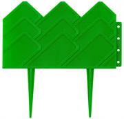 GRINDA 14х310 см, зеленый, бордюр декоративный для клумб 422221-G