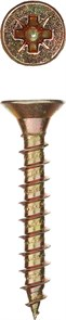 Саморезы СУ-Ж универсальные, 45 х 3.5мм, 6 000 шт, желтый цинк, ЗУБР