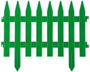GRINDA 28х300 см, зеленый, забор декоративный КЛАССИКА 422201-G