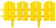 GRINDA 16Х300 см, желтый, бордюр декоративный ЛЕТНИЙ САД 422225-Y
