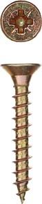Саморезы СУ-Ж универсальные, 45 х 6.0 мм, 2 500 шт, желтый цинк, ЗУБР