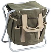 GRINDA 360 мм, двухсторонняя, скамейка садовая складная с сумкой 8-422351_z01