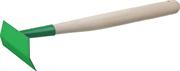 РОСТОК 110x50 мм, трапециевидная, изогнутая, деревянная ручка, полольник 39663