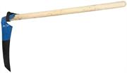 Лезвие 40 см, коса-секач с деревянным черенком 39813