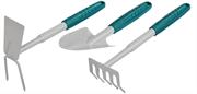 RACO 3 предмета, набор садовый: cовок, грабельки, мотыжка 4225-53/475