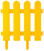 GRINDA 29х224 см, желтый, забор декоративный ШТАКЕТНИК 422209-Y