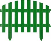 GRINDA 28х300 см, зеленый, забор декоративный АР ДЕКО 422203-G