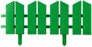 GRINDA 16Х300 см, зеленый, бордюр декоративный ЛЕТНИЙ САД 422225-G